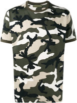 Valentino Rockstud camouflage T-shirt - men - Cotton - M