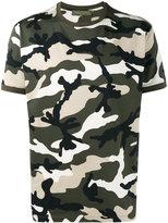 Valentino Rockstud camouflage T-shirt