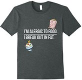 I Break Out in Fat Funny Plus Size T-Shirt - Pro Fat Shirt