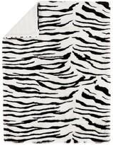 Pottery Barn Kids Zebra Fur Baby Blanket