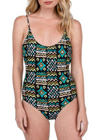 Volcom Instinct Print One-Piece Swimsuit