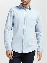 Gant Indigo Denim Shirt, Light Indigo