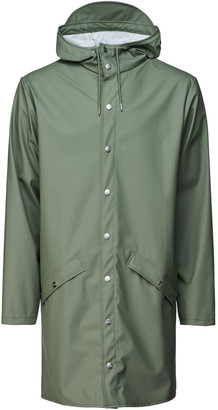 Rains Long Jacket 1202 Olive - XXS/XS