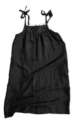 La Prestic Ouiston Black Silk Dresses