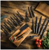 Tower Stone Coated 24-piece Knife Set In Black