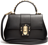Dolce & Gabbana Lucia small stud-embellished leather bag