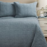 Artisan de Luxe Stonewashed Diamond Quilt Set - Full-Queen