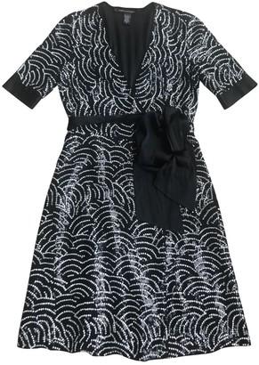 Diane von Furstenberg Black Silk Dresses