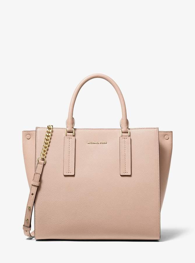 46b5234bcf98 MICHAEL Michael Kors Beige Top Handle Handbags - ShopStyle