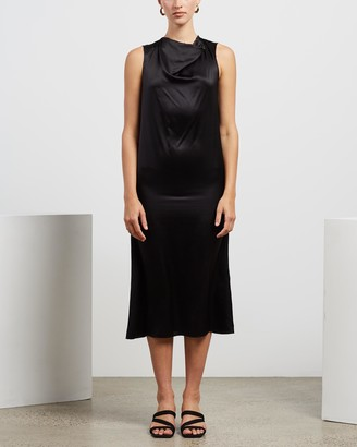 MATIN Cowl Neck Dress