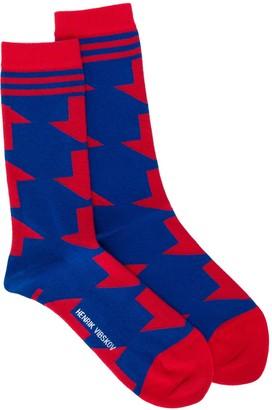 Henrik Vibskov Arrow Print Socks