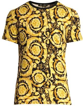 Versace Baroque-Print T-Shirt