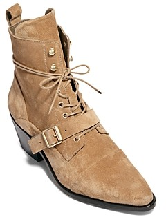 AllSaints Women's Katy Lace Up Booties