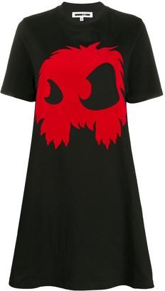McQ Monster print T-shirt dress