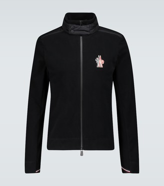 MONCLER GRENOBLE Fleece cardigan