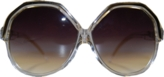 Linda Farrow Vintage Clear Sunglasses, 60% off