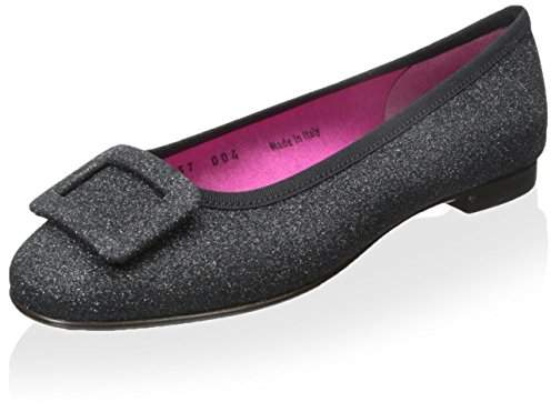 Le Babe Women's Flat with Buckle