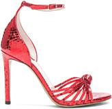 Altuzarra Embossed Patent Leather Parker Heels