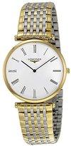 Longines L47092117 La Grand Classic in Steel and 18k Gold Ultra Thin Men's Watch