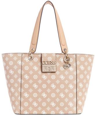 GUESS PY669123NDMIDDB Kamryn Double Handle Tote Bag