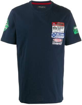 Frankie Morello patch detail T-shirt