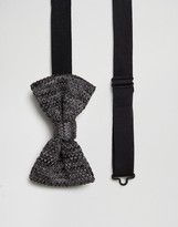 French Connection Knitted Bow Tie