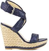 Stuart Weitzman Elixir Crossover Wedge Sandal