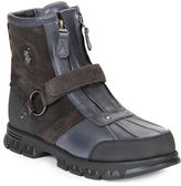 Polo Ralph Lauren Conquest Leather and Suede Work Boots