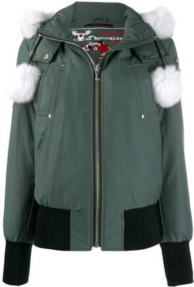 Moose Knuckles Debbie hooded padded jacket