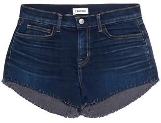 L'Agence Zoe The Perfect New Denim Shorts