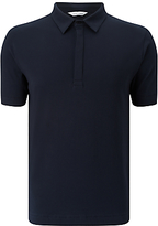Samsoe & Samsoe Heim Stretch Polo Shirt, Total Eclipse