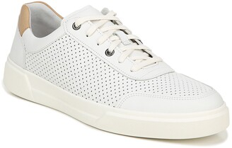 Vince Barnett Perforated Leather Sneaker