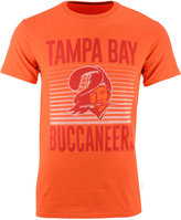 Junk Food Clothing Men's Tampa Bay Buccaneers Block Shutter T-Shirt