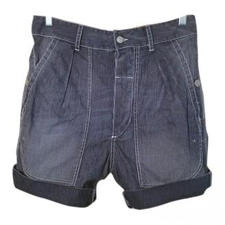 Etoile Isabel Marant Blue Cotton Shorts