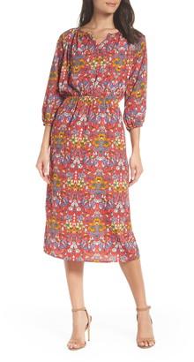 Fraiche by J Flower Blouson Dress