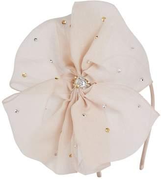 Tutu Du Monde Embellished Bow Headband