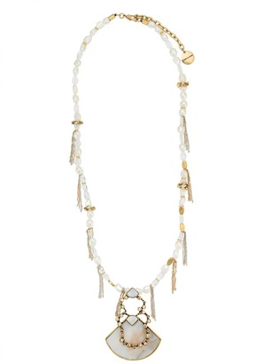 Camila Klein Mother Of Pearl Necklace