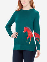 The Limited Horse Intarsia Sweater