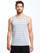 Old Navy Go-Dry Striped Tank for Men