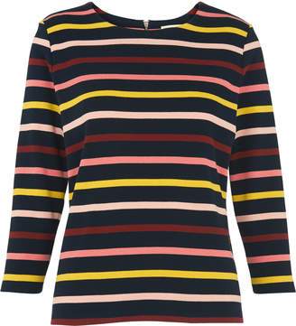 Multi Stripe Long Sleeved Tee