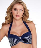 Panache Britt Stripe Halter Swim Top