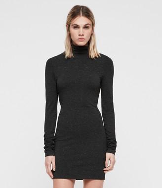 AllSaints Esme Shimmer Dress