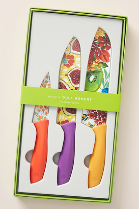 Anthropologie Market Kitchen Knives, Set of 3 By in Assorted Size SET OF 3