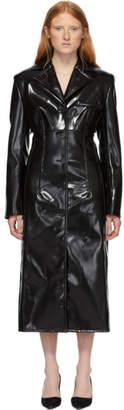 Kwaidan Editions Black Coated Structured Coat