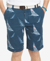 "Izod Men's Sailboat Print 10.5"" Shorts"