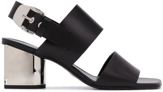Proenza Schouler Mirrored Heel 70mm Sandals
