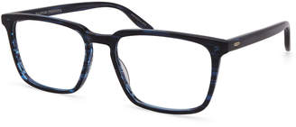 Barton Perreira Men's Eiger Midnight Patterned Rectangle Optical Frames