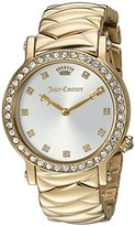 Juicy Couture Women's 'LA Luxe' Quartz Tone and Gold Plated Casual Watch(Model: 1901488)