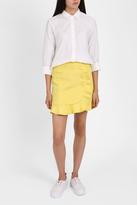Paul & Joe Sister Button Ruffle Wrap Skirt
