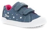 Geox Toddler Girl's Kiwi Studded Sneaker